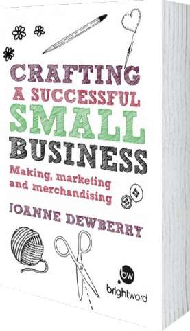 Cover of Crafting a Successful Small Business (Paperback) by Joanne Dewberry