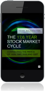 Cover of The 17.6 Year Stock Market Cycle on Mobile by Kerry Balenthiran