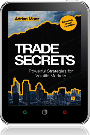Cover of Trade Secrets on Tablet by Adrian Manz