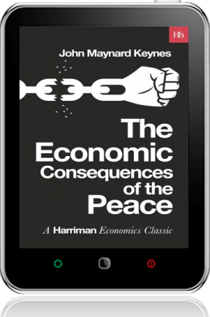 Cover of The Economic Consequences of the Peace on Tablet by John Maynard Keynes