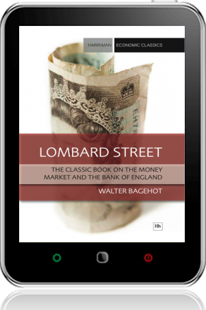 Cover of Lombard Street on Tablet by Walter Bagehot