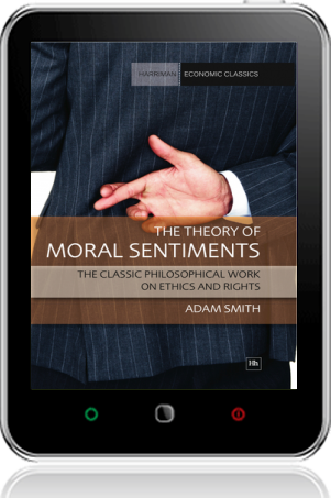 Cover of The Theory of Moral Sentiments on Tablet by Adam Smith