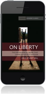 Cover of On Liberty on Mobile by John Stuart