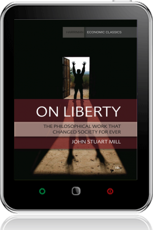 Cover of On Liberty on Tablet by John Stuart