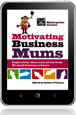 Cover of Motivating Business Mums (Tablet)