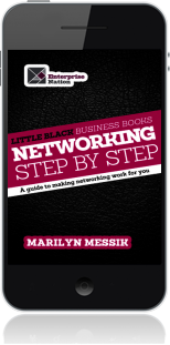 Cover of Little Black Business Books - Networking Step By Step (Mobile Phone)