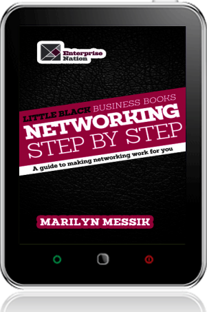Cover of Little Black Business Books - Networking Step By Step (Tablet)