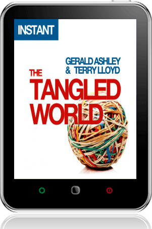 Cover of The Tangled World on Tablet by Gerald Ashley and Terry Lloyd