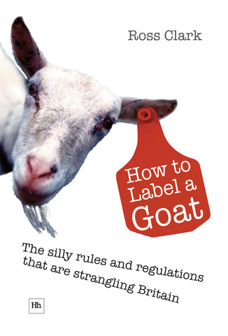 Cover of How to Label a Goat by Ross Clark