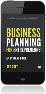 Cover of Business Planning For Entrepreneurs on Mobile by Guy Rigby