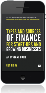Cover of Types and Sources of Finance for Start-up and Growing Businesses (Mobile Phone)