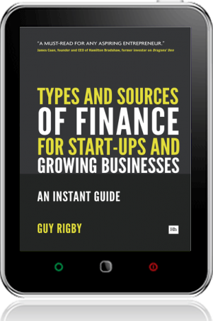 Cover of Types and Sources of Finance for Start-up and Growing Businesses (Tablet)