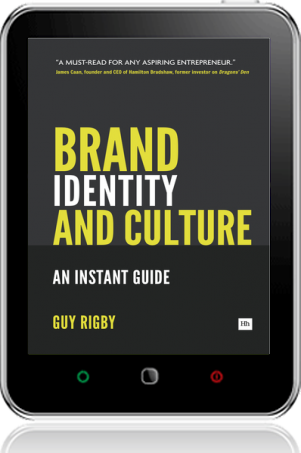 Cover of Brand Identity And Culture on Tablet by Guy Rigby