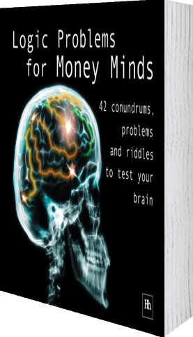 Cover of Logic Problems for Money Minds by Philip Jenks