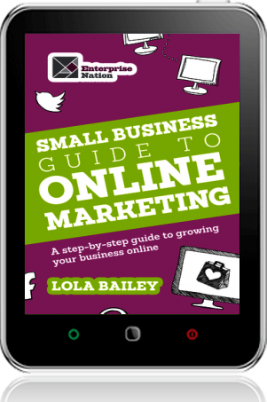 Cover of The Small Business Guide to Online Marketing (Tablet)