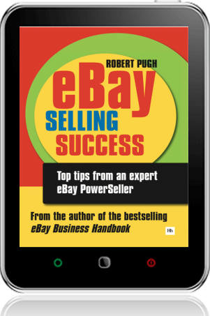 Cover of eBay Selling Success on Tablet by Robert Pugh