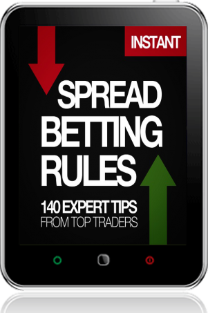Cover of The Harriman Book of Spread Betting Rules on Tablet by John Bonner