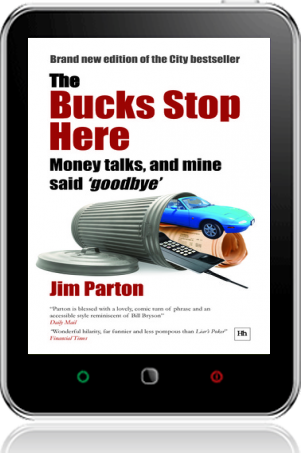 Cover of The Bucks Stop Here on Tablet by Jim Parton