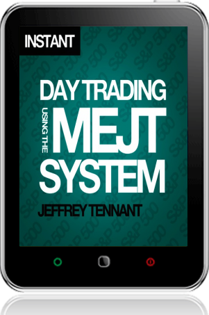 Cover of Day Trading Using the MEJT System on Tablet by Jeffrey Tennant