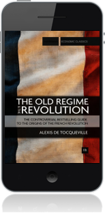 Cover of The Old Regime and the Revolution on Mobile by Alexis de Tocqueville