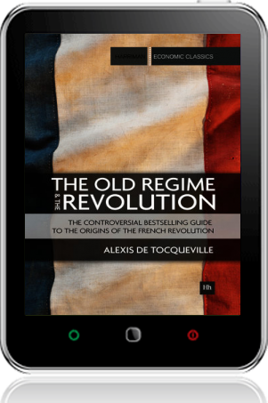 Cover of The Old Regime and the Revolution on Tablet by Alexis de Tocqueville