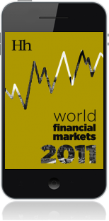 Cover of World Financial Markets in 2011 on Mobile by George G. Blakey