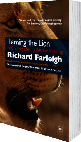 Cover of Taming the Lion by Richard Farleigh