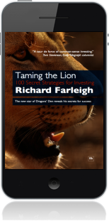 Cover of Taming the Lion on Mobile by Richard Farleigh