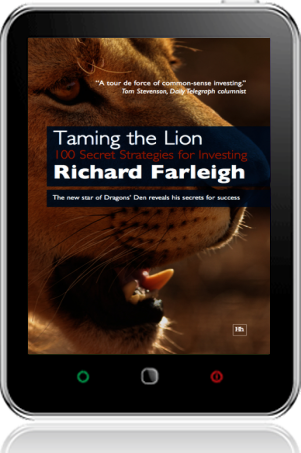 Cover of Taming the Lion on Tablet by Richard Farleigh