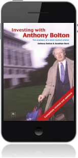 Cover of Investing with Anthony Bolton on Mobile by Jonathan Davis andAnthony Bolton