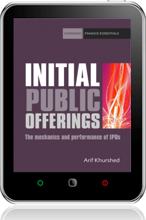 Cover of Initial Public Offerings on Tablet by Arif Khurshed