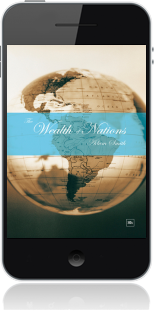 Cover of The Wealth of Nations on Mobile by Adam Smith