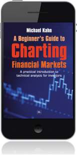 Cover of A Beginner's Guide to Charting Financial Markets on Mobile by Michael Kahn