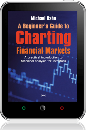 Cover of A Beginner's Guide to Charting Financial Markets on Tablet by Michael Kahn