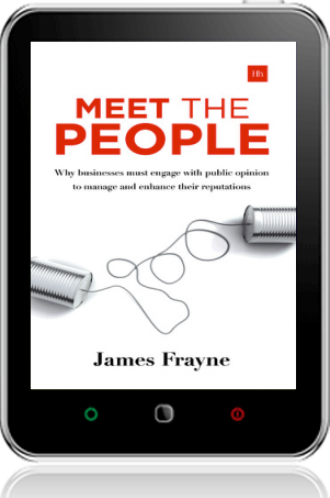 Cover of Meet the People on Tablet by James Frayne