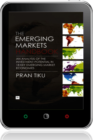 Cover of The Emerging Markets Handbook on Tablet by Pran Tiku