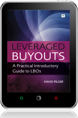 Cover of Leveraged Buyouts on Tablet by David Pilger