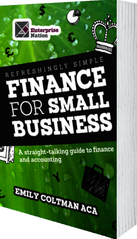 Cover of Refreshingly Simple Finance for Small Business (Paperback) by Emily Coltman