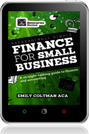 Cover of Refreshingly Simple Finance for Small Business (Tablet)