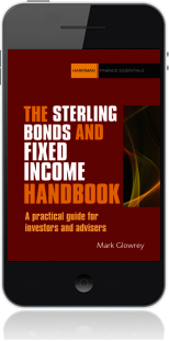 Cover of The Sterling Bonds and Fixed Income Handbook on Mobile by Mark Glowrey