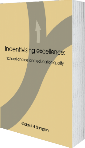 Cover of Incentivising excellence by Gabriel H. Sahlgren