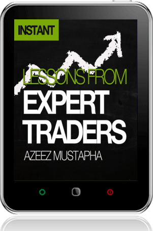 Cover of Lessons From Expert Traders on Tablet by Azeez Mustapha