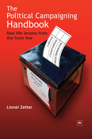 Cover of The Political Campaigning Handbook by Lionel Zetter