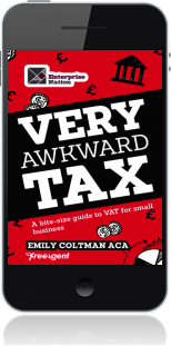 Cover of Very Awkward Tax on Mobile by Emily Coltman