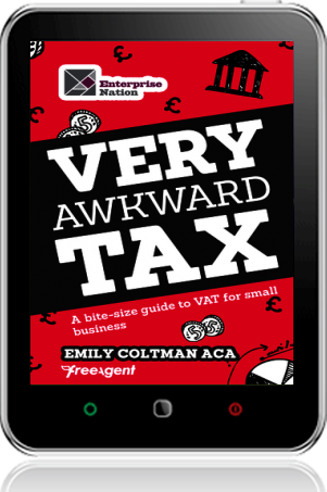 Cover of Very Awkward Tax on Tablet by Emily Coltman