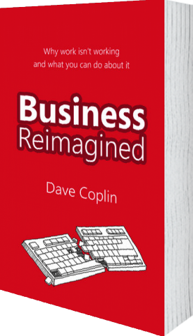 Cover of Business Reimagined (Paperback) by  and Dave Coplin
