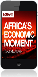 Cover of Africa's Economic Moment on Mobile by David Mataen