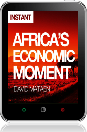 Cover of Africa's Economic Moment on Tablet by David Mataen