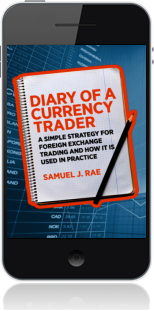 Cover of Diary of a Currency Trader on Mobile by Samuel J. Rae