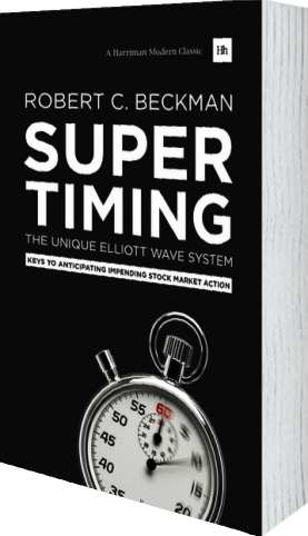 Cover of Supertiming: The Unique Elliott Wave System (Paperback) by Robert C. Beckman